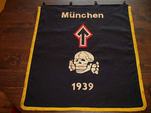 Ss Munich 1939 flag for viewing...