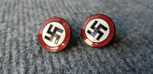 Purchased these sympathizer cufflinks today , opinions welcome. Thank you.