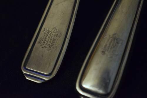 Leibstandarte Knife and fork