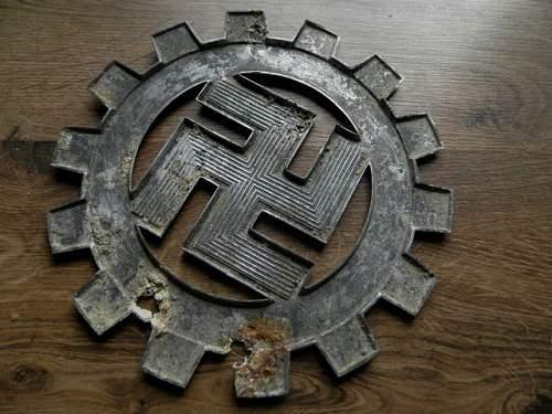 big DAF emblem