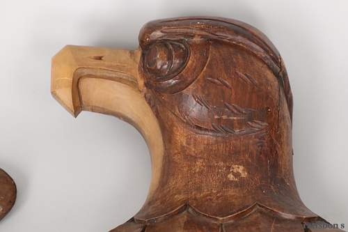 Wooden wall eagle, what do you think??
