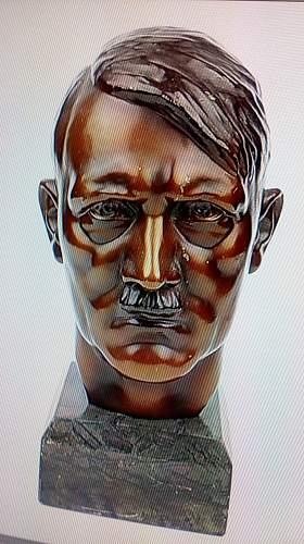 Adolf Hitler Head bust.