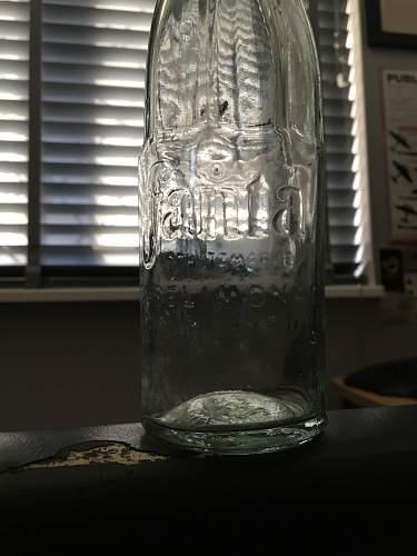Fanta Bottle from 1943