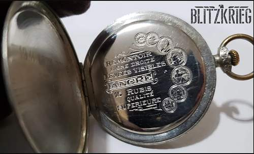 SS Pocket Watch