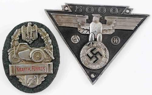 SS-SA Biker Plaques, fake or real?