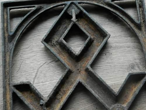 erbhof plaquete odal rune
