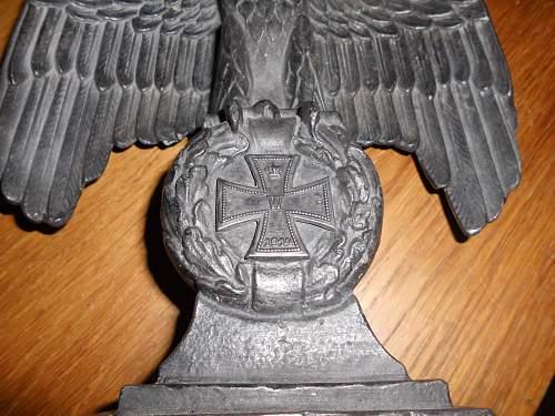 German Desk Eagle