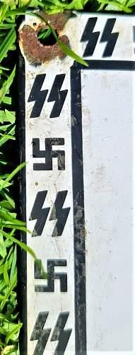 Creepy Treblinka Tin Sign