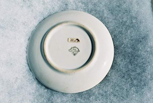 Ss~gemeinshcaft small plate found,,,,