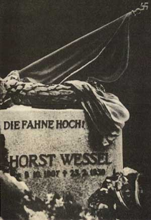 Horst Wessel Memorial Plaque