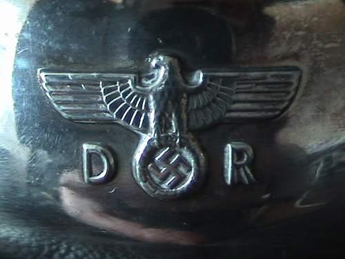 D.R sugar bowl from Gorings train carriage