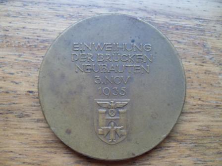 Political Table Medal