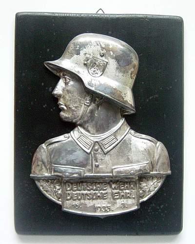 Commemorative plaque
