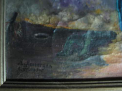 Click image for larger version.  Name:Grandfathers painting 1950 007.JPG Views:73 Size:40.7 KB ID:166755