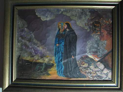 Click image for larger version.  Name:Grandfathers painting 1950 005.JPG Views:71 Size:65.8 KB ID:166757