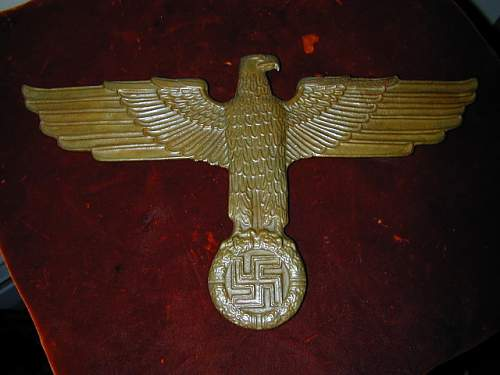 Brass eagle - what is it?
