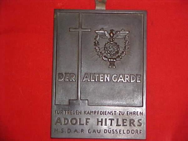 A.H. Award Plaque