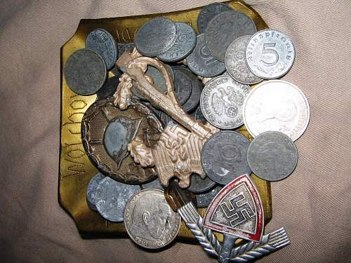 where to find original ww2 swastika coins