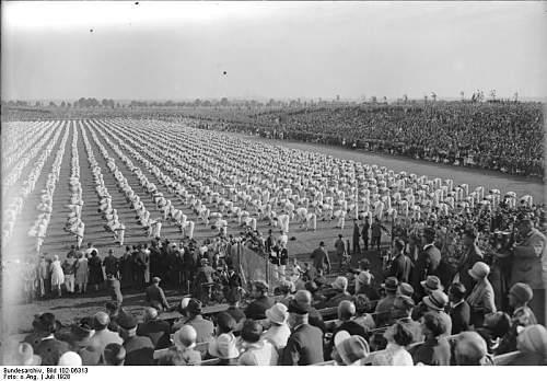 Turnfest 1935 Erkelenz (Aachen bezirk) winner sash