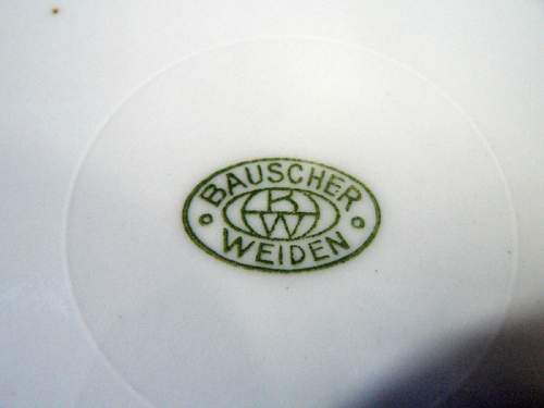 Leibstandarte dinner plate - fake or original?