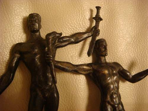 German statuettes - period or fake items? Opinions please