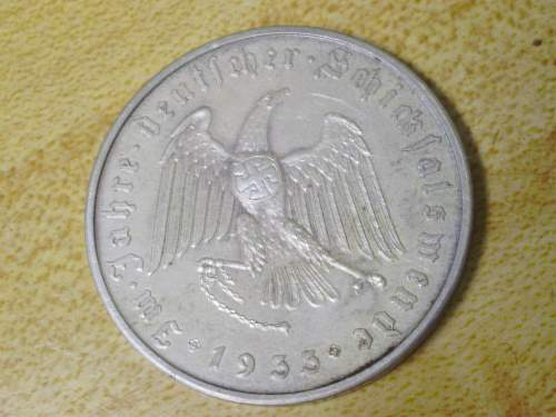 ebay Third Reich: coin real or bogus?