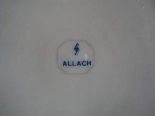 Allach porcelain plate