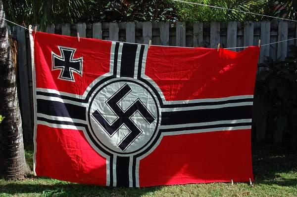 ReichsKriegsflagge Authentic? Values?