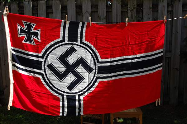 Another Reichskriegflagge Authentic? Value?