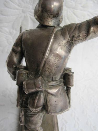 German Statue Grenade Thrower 1930's - WWII      Enlarge    German Statue Grenade Thrower 1930's - WWII