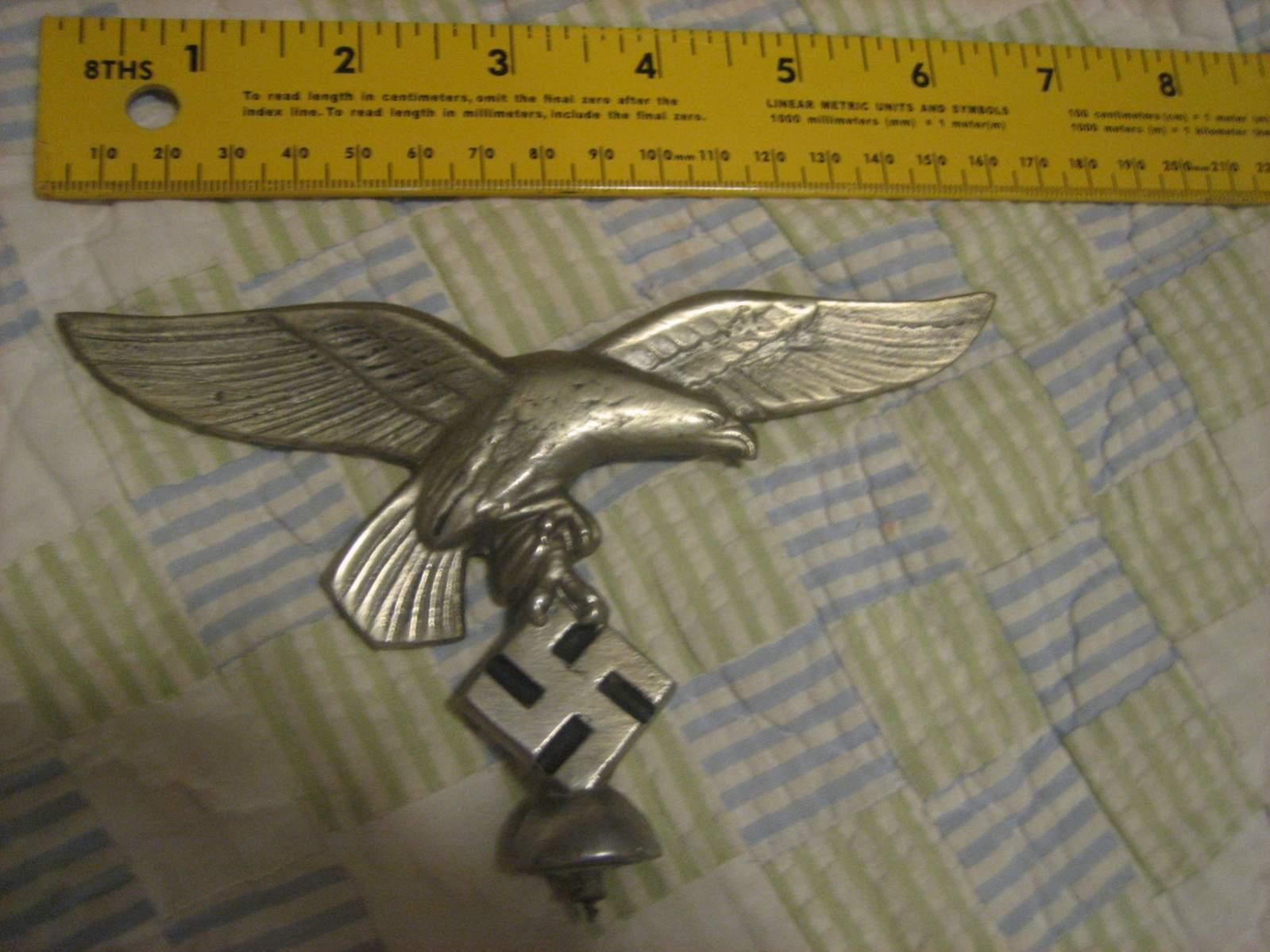 Luftwaffe Flag Pole Topper Real Or Fake