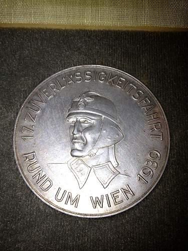 NSKK table medal .