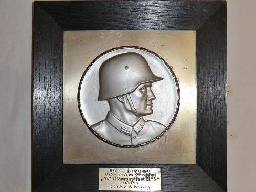 1934 Sportfest trophy