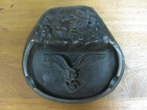 Luftwafffe ashtray