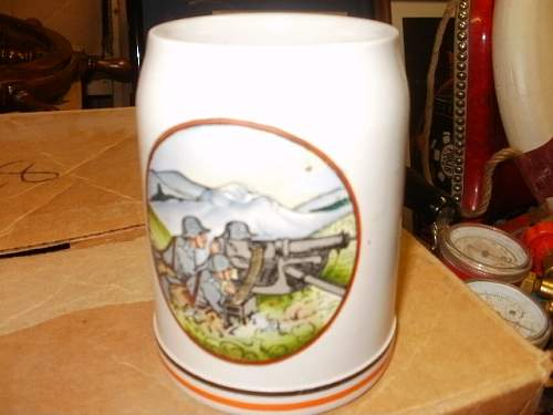 Army beer stein?