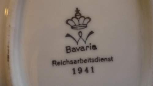 ReichsArbeitsdienst Plates