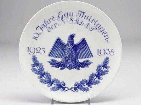 Gau Thuringen Plate