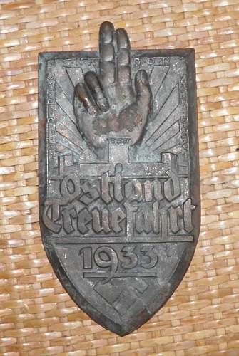 1933 Bronze Plaque, I NEED HELP!