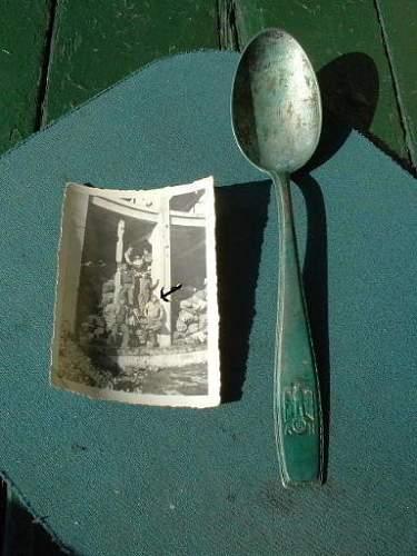 Adolph Hitler Silverware