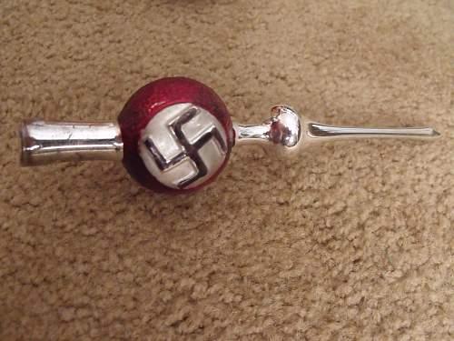 NSDAP Christmas Ornaments.  ???
