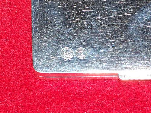 Cigarette case by Zeitner