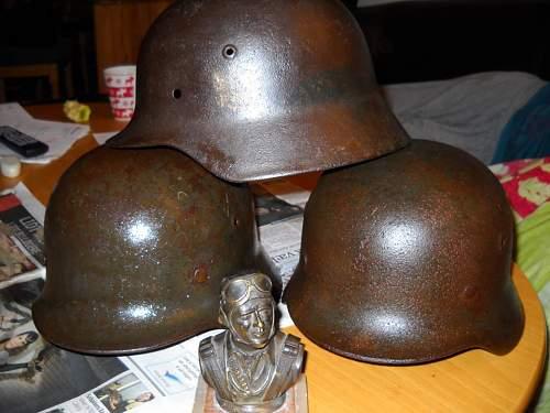 Bust of Luftwaffe Pilot