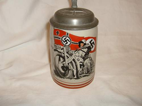 Does anyone know value of Nazi Beer Steins?