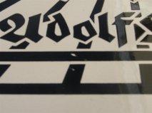 Hitler Reichs Prasident plaque