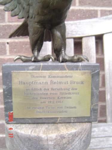 Helmut Bruck Eagle