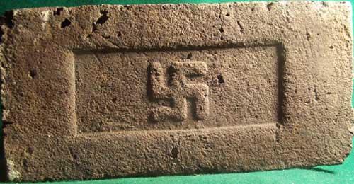 Nazi bricks from Brazil.