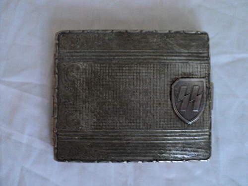 ss cigarette case