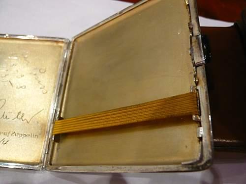 1935 graf zeppelin cigarette case
