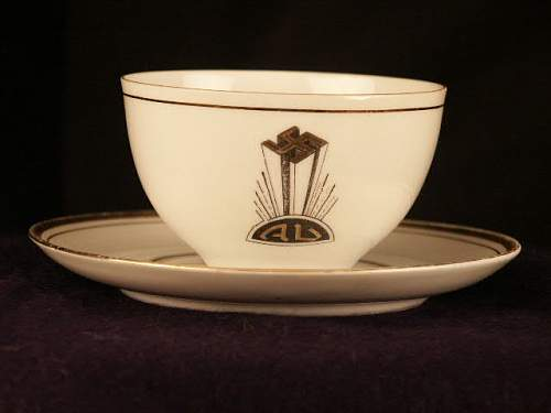 A.B. cup and saucer.