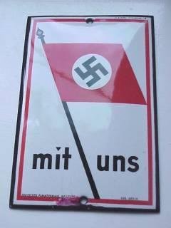 RARE Thrid Reich Plaque